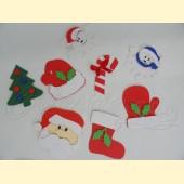 Mažos Kalėdines dekoracijos