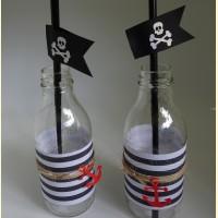 """Papuošimai buteliukams """"Piratai"""" 2"""