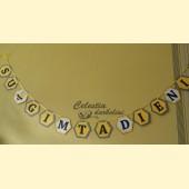 """Vėliavėlės """"Su gimtadieniu, Bitute"""""""