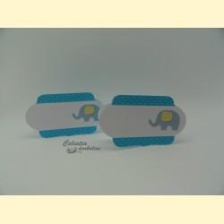"""Stalo kortelės """"Mėlynasis drambliukas"""""""