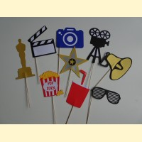 Dekoracijos fotografavimui Holivudas