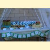 """Vėliavėlės """" 1 gimtadienis, Traukinukas"""""""