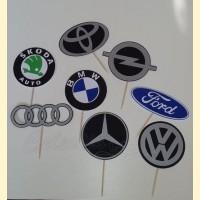 """Smeigtukai """"Mašinų logo"""""""