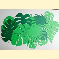 Dekoracijos popieriniai lapai
