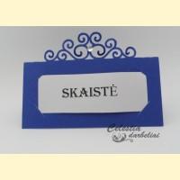 """Stalo kortelė """"Ornamentas"""""""