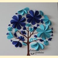 """Svečių paveikslas """"Meilės medis"""""""